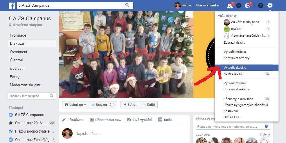 Jak založit facebookovou skupinu